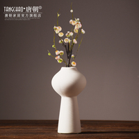 Hot and white ceramic vase decoration simple living room furnishings simple fashion Home Furnishing soft decoration