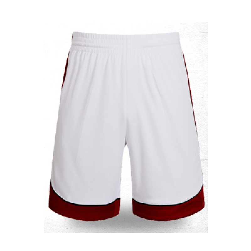 SANHENG спортивные мужские шорты для занятия баскетболом быстросохнущие мужские шорты для баскетбола европейского размера баскетбольные шорты Pantaloncini Basket 306B - Цвет: White