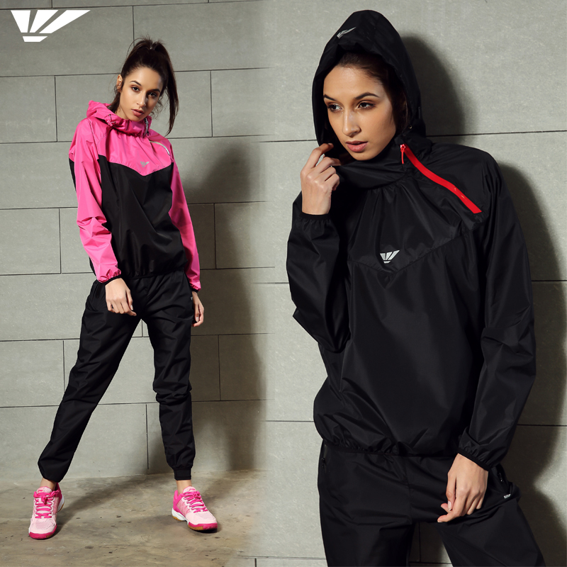 Women's Sweat Sauna Suit Lose Weight Black Rose  Control Weight Suit