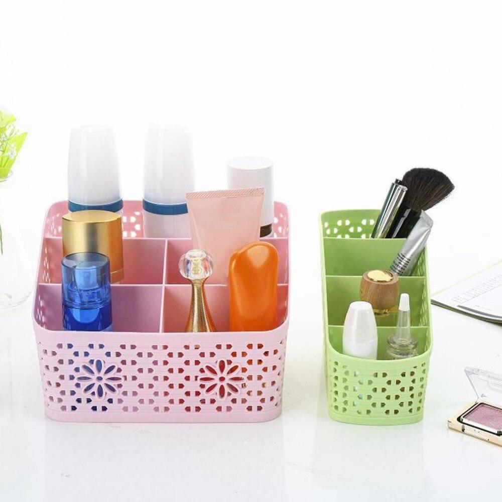 Multifunctional Makeup Office Storage Case Desktop Storage Box Living Room Remote Control Cosmetics Organizer