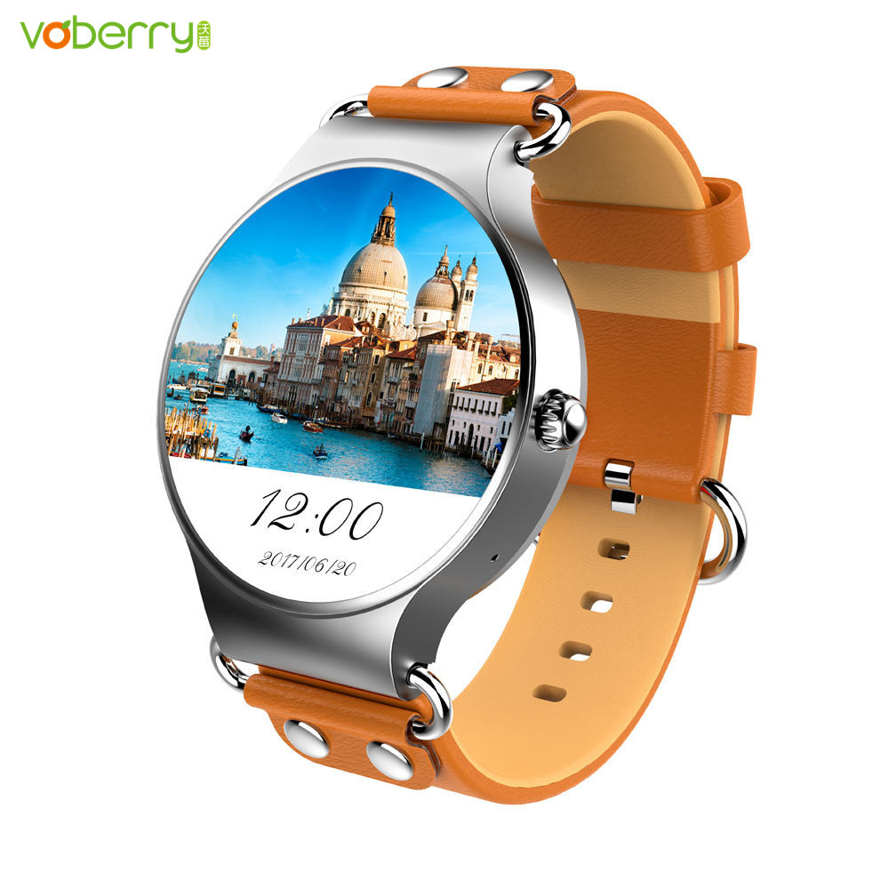 VOBERRY KW98 Smartwatch With SIM Card Android 5.1 3G Smart Watch 8GB Sports GPS Fitness Tracker Heart Rate Wifi Watch Phone цена