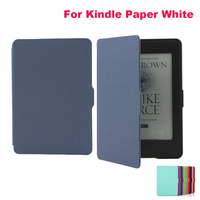 High Quality Ultra Thin Magnetic Leather Smart Case Cover For Amazon Kindle Paperwhite 2015 Version E