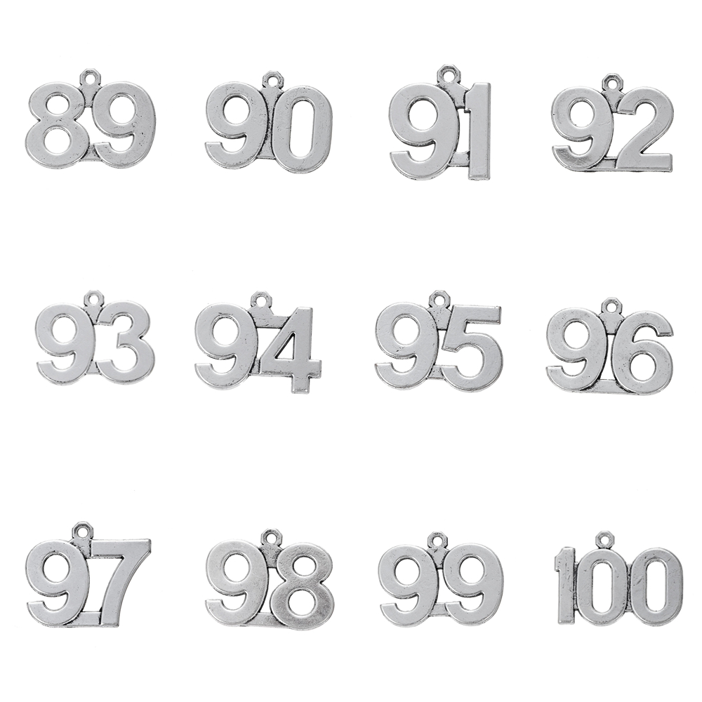 US $3 98 |Skyrim 20pcs 89 100 Digital Charm Pendant Sliver Painted Floating  Jewelry Making 89 90 91 92 93 94 95 96 97 98 99 100-in Charms from Jewelry
