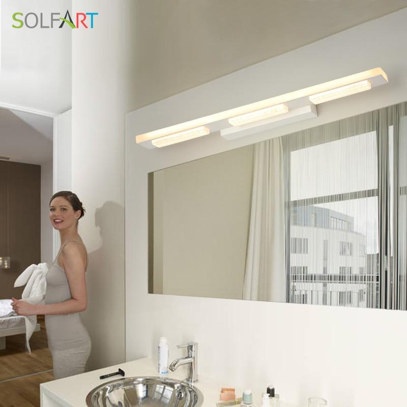 LED Light Fixtures Mirror Light Modern Led Sconce Wall Lights Lamps Modern Hanging Bathroom Makeup Room bathroom lighting