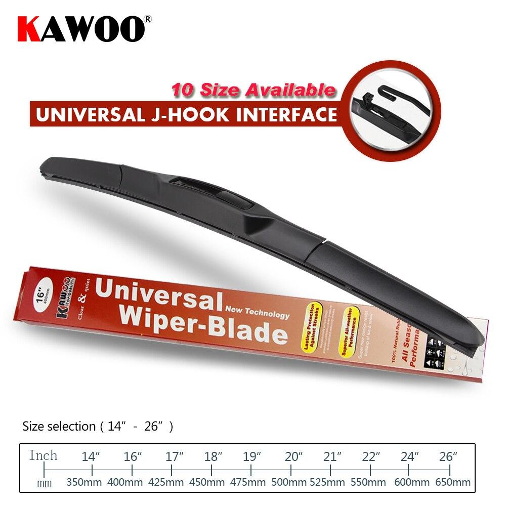 KAWOO Universal U-Typ Auto Wischer Klinge 14