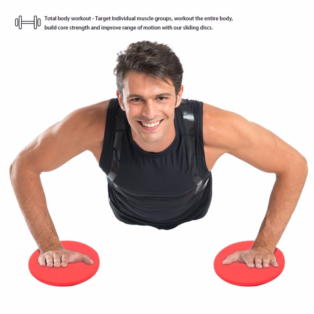Discs Slider Fitness Discs Slide Exercise Training Pilates Disc Crossfit Glide Slider Disc Core For Yoga Workout Gym Choice Materials Fitness Equipments Fitness & Body Building