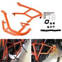 NICECNC Crash Bar Hoop Guard Bumper Protector for KTM 1290 Super Duke R GT 2014 2015 2016 2017 2018 Motorcycle Accessories Parts