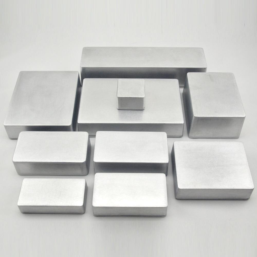 1 Piece Silver Color Aluminum Housing Case 1590D 188*119*56.6mm