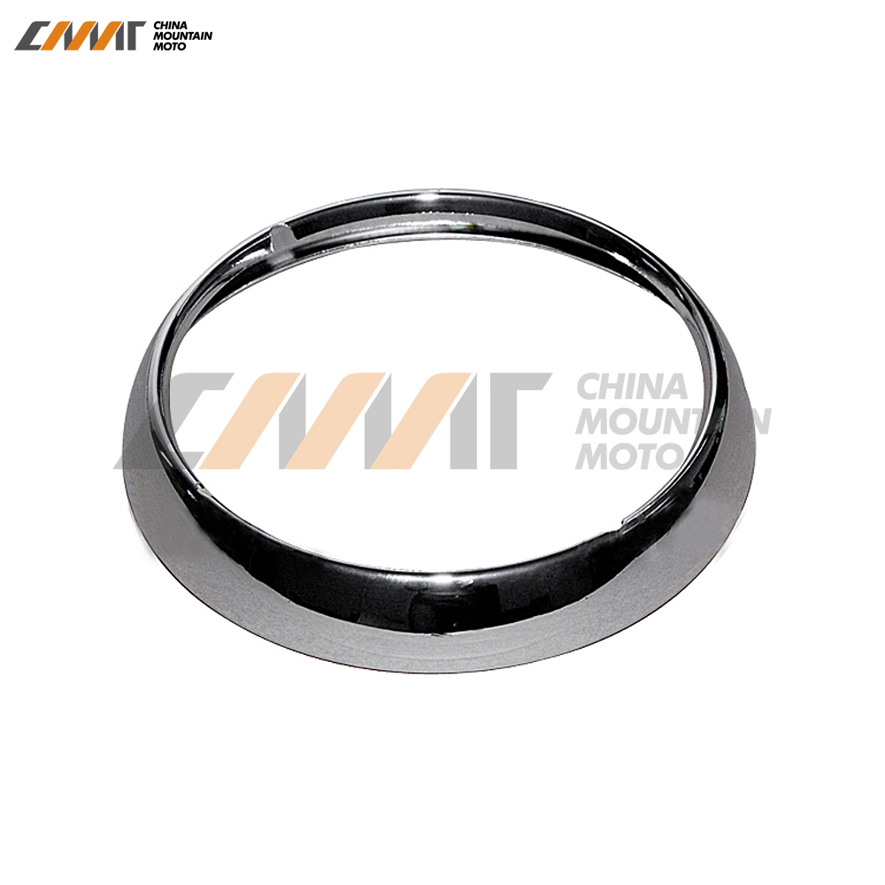 7 Chrome Headlight Headlamp Trim Ring case for Harley Electra Street Glide Touring 7pcs oem chrome headlight master window