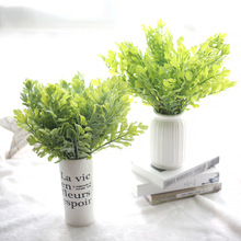 Hot Green Plant Grass Fake Floral Artificial Plants Artificial Flowers artificial succulents Decoration Plastic flower SF47433 nordic artificial plastic smog flower wedding decoration flowers row pine needles with grass artificial fake plants