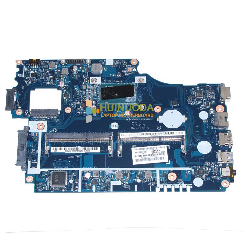 V5WE2 LA-9532P NBM8E11002 NB.M8E11.002 For acer aspire E1-532 E1-572G Laptop motherboard SR170 I5-4200U warranty 60 days