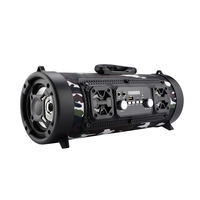 20W Portable Speaker Bluetooth Column Bass Subwoofer Soundbar Wireless Portable Column With FM Radio Mic KTV Sound System Boom
