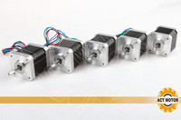 Free Ship From Germany ACT 5PCS Nema17 StepperMotor 17HS4417P1 2Phase 56oz In 40mm 1 7A Single