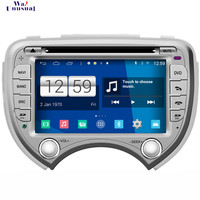 WANUSUAL 2017 Car Styling 7'' Android 4.4.4 GPS Navigation for Nissan March Tape Recorder with Radio WIFI BT 3G TV 1024*600 Map