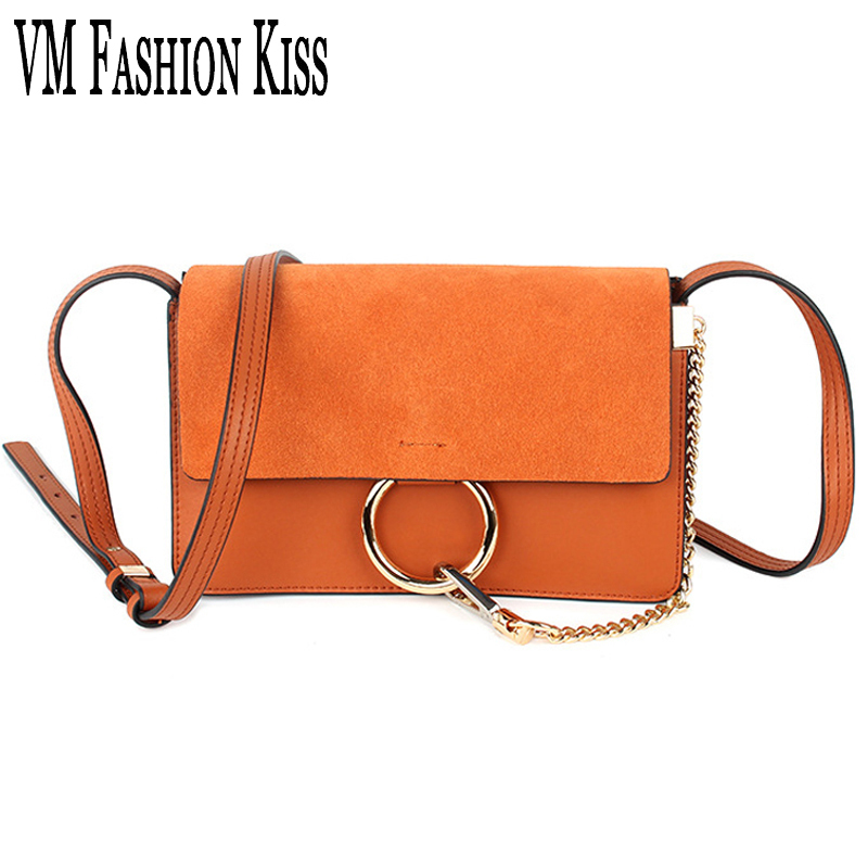 VM FASHION KISS Genuine Leather Women HOT Small Flap Pocket  Messenger Bag Chain Decoration Shoulder Bag High Quality Satchel vm fashion kiss genuine leather serpentine chain small messenger bags for women high quality mini shoulder bags falp bag lady