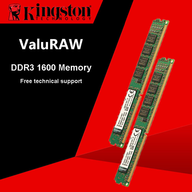 US $44 51  Kingston RAM DDR3 1600MHz 4GB 240 Pin Intel DIMM Motherboard  Memory For Desktop PC-in RAMs from Computer & Office on Aliexpress com  