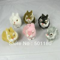 free shipping faux rabbit fur antique toys for children