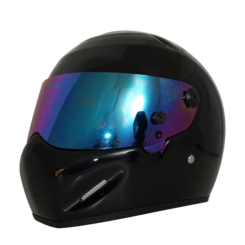 Free shipping,DIY SIMPSON fiberglass full-face helmet motorcycle helmet CRG ATV-5 Star Wars helmets, Helmet + SIMPSON LOGO