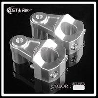 1 1 8 28MM CNC 5 Colors HandleBar Fat Bar Clamp Riser For CRF KTM YZF