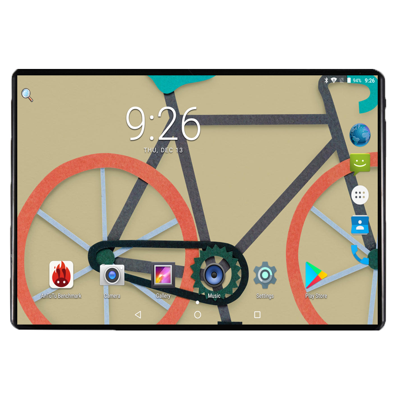 Newest 2.5D 10 Inch MediaTek Octa Core MT8752 IPS 4G RAM 64G ROM Cellular 2 SIM Phone Tablet PC 4G LTE GPS WIFI Android 8.0