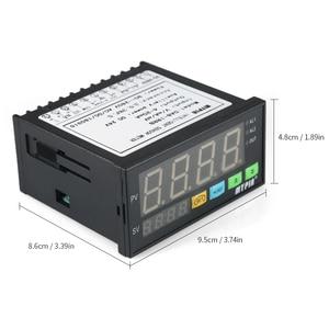 Image 2 - Dijital çok fonksiyonlu LED ekran sensörü ölçer 2 röle Alarm çıkışı ve 0 ~ 10 V/4 ~ 20mA/0 ~ 75mV giriş DA8 IRRB