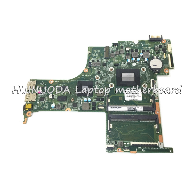 NOKOTION 809408-001 814752-001 For HP Pavilion 17-G Laptop Motherboard DA0X21MB6D0 A10-8700P CPU DDR3 M360 2GB Video Card nokotion 809986 601 809986 001 laptop motherboard for hp pavilion 17 p day21amb6d0 a10 7050m cpu ddr3 mainboard full works
