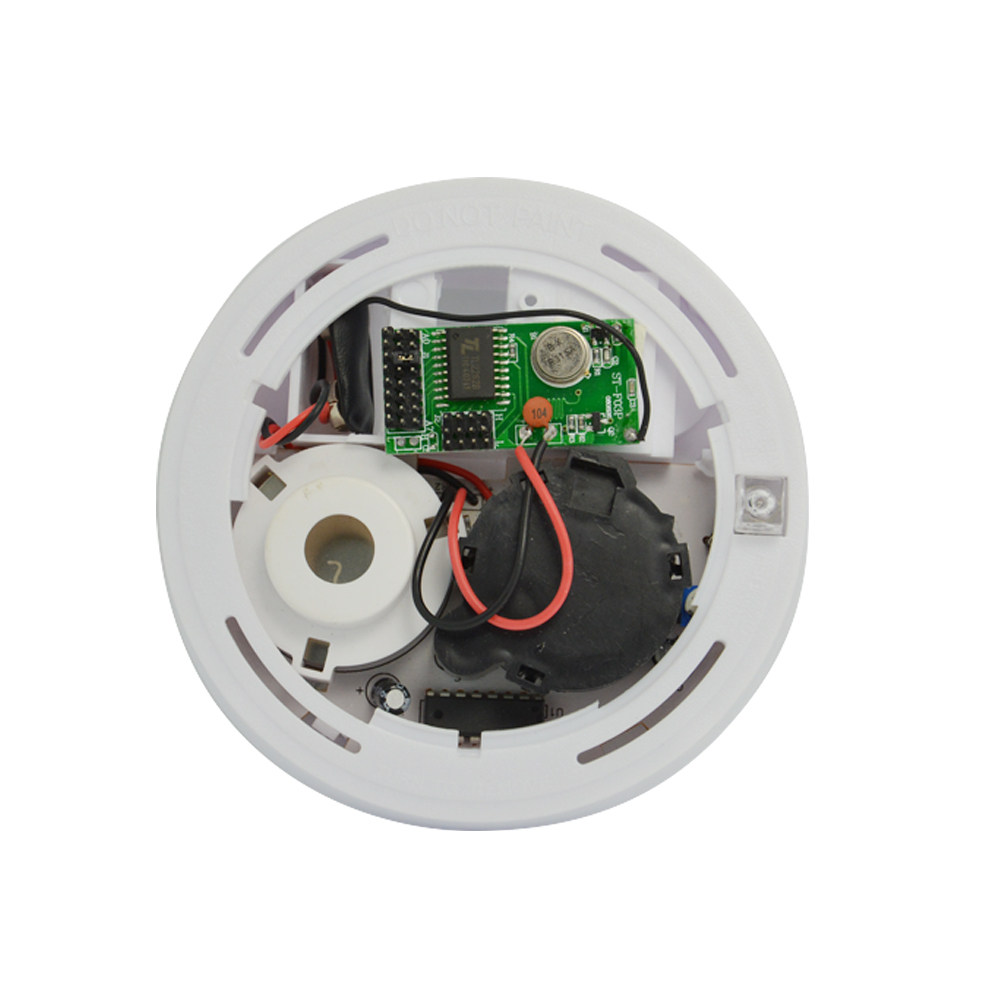 Online Shop Jeruan 12v Dc Wired Smoke Detector Optoelectirc Sensor Wiring A House For Alarms 1 Pcs Fire Alarm 2262 Chip 433mhz Frequency Wireless Home Factory Ware