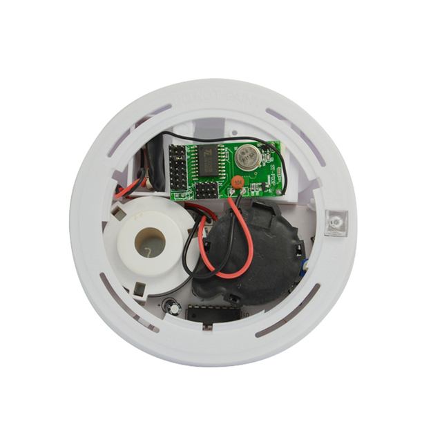 (1 PCS) Fire Alarm 2262 chip 433Mhz Frequency Wireless Smoke Sensor Home Factory Ware House Safe Protection System accessories