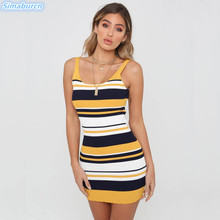 2019 Sexy Women Knitted Dresses Sleeveless Slim Bodycon Club Summer Mini Dress Elegant Ladies Party Sheath Vestidos S~XL