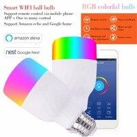 New Arrival Smart Light Bulbs APP Remote Control LED Smart WIFI Bulb LED Color Adjustment Connect