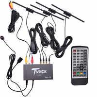 2017 Smart TV Box USB2.0 1080P HD DVB-T EN300 744/DVB-T2 TV Box HDMI USB AV MOV OSD DVB RCA True Four Tuners Receiver
