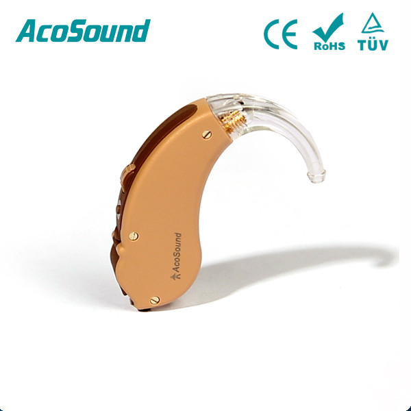 AcoSound AcoMate 610 BTE behind the ear model digital programmable 6 channel hearing aids Hearing Aid