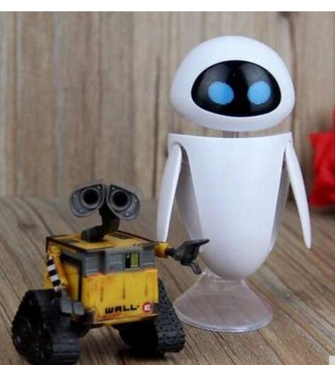 Wall-e Robot Wall E & Eve Pvc Action Figure Collection Model Toys Dolls 6cm #2