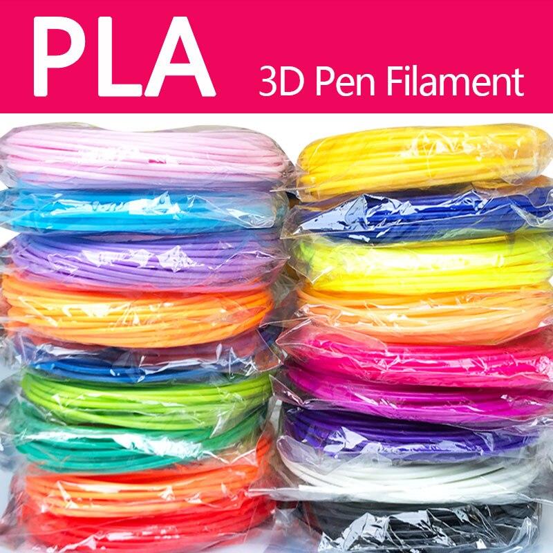 NIB 3D Printer PLA Filament 1.75mm RED BLUE ORANGE GREEN PURPLE