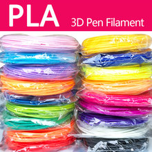 Kwaliteit product pla/abs 1.75mm 20 kleuren 3d printer filament pla 1.75mm 3d pen plastic 3d printer abs filament 3d filament abs