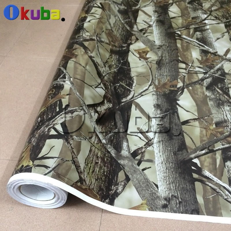 Aliexpress Com Buy Real Leaf Tree Camouflage Vinyl Mossy