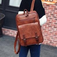 Fashion PU Man Women Travel Laptop Backpack For Macbook Air Pro 11 12 13 15 Retina Laptop HandBag For Lenovo HP School Bag