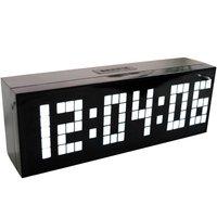 4 Colors LED Clock Digital Alarm Clock Wall Table Desktop New Design with Snooze Calendar Temperature