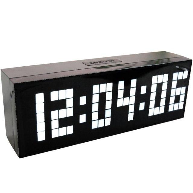 Couleurs Led Horloge Numerique Alarme Horloge Murale Table De Bureau Nouveau Design Avec Snooze Calendrier