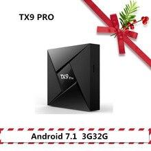 TANIX TX9 PRO tv box android 7.1  Set Top Box 3G32G  BT Smart tv Amlogic S912  2.4GHz WiFi Support 4K Media Player HDMI 2.0