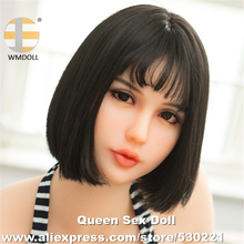 WMDOLL Top Quality Real Sex Doll Head For Realistic Adult Dolls Silicone Mannequin With Oral Sexy Fit For Body 145cm To 172cm
