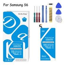 Original Da Xiong  Battery EB-BG920ABE For Samsung Galaxy S6 G9200 G920 G920i G920A G9208 G9209 2550mAh Replacement