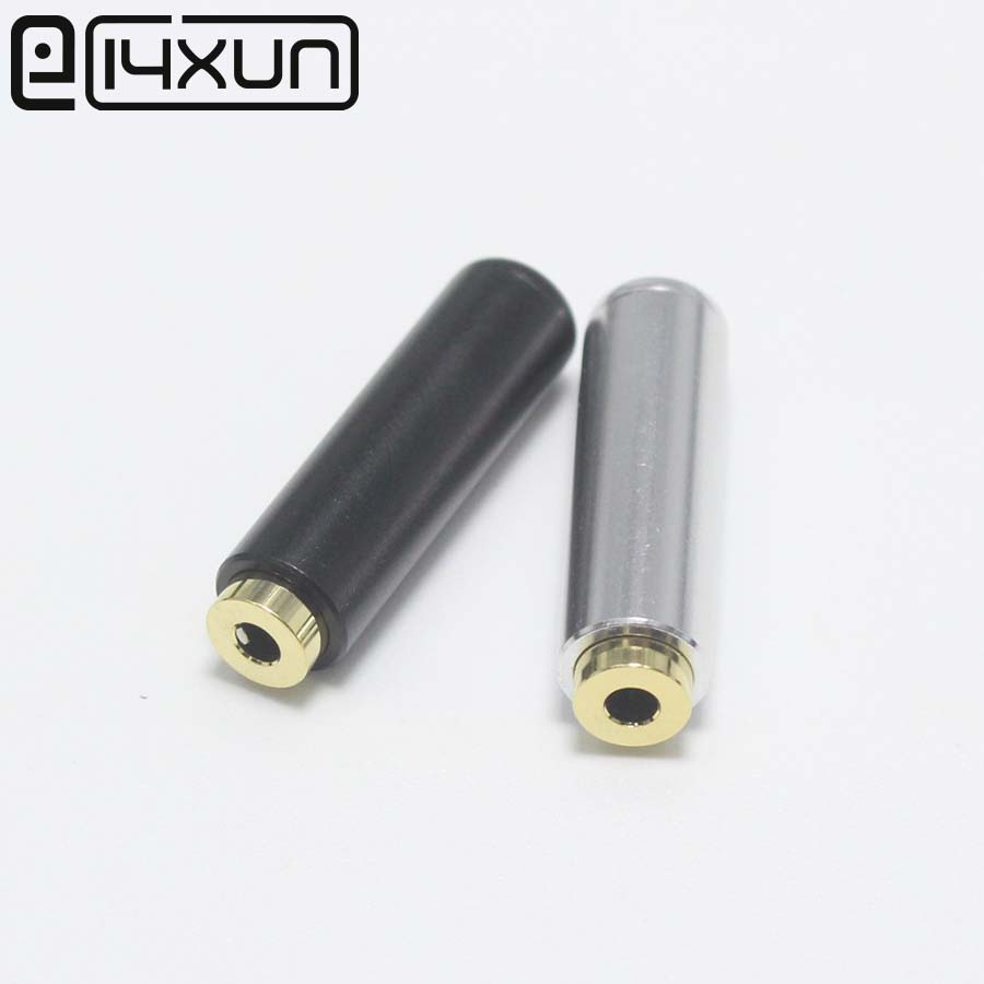 EClyxun 2Pcs Upgraded 2.5mm 4 Pole Stereo Female Jack 2.5 Audio Plug For Headphone Earphone Soldering DIY Mini Connector