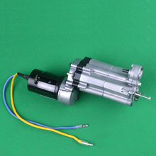 1Set HG P407 RC4WD Medium Gearbox Full Metal Gearbox Assembly Kit 3 speed Transmission Gear Box
