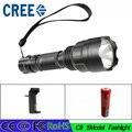 Z30 Высокая Мощность 3800 Люмен 5 Режим CREE XM-L T6 LED С8 Фонарик Факел Лампы Свет Супер Яркий светодиодный свет использование 18650 батареи