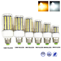 1PC High Lumens SMD5736 E27 3W 5W 7W 9W 12W 15W LED Corn Bulb Light AC220V Constant Current  31 to 170 LEDs Lamp No Flickering