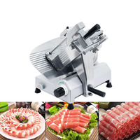 New Blade Meat Slicer Electric Food Slicer 10 Inch Blade 240W Heavy Duty For Meat Chopper