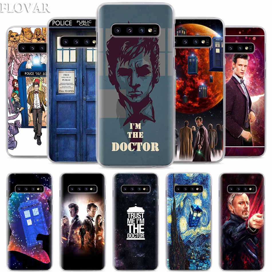 Doctor Who Phone Case for Samsung Galaxy S10e S10 Plus S7 S8 S9 Plus Note 8 9 M10 M20 M30 Hard Case Coque