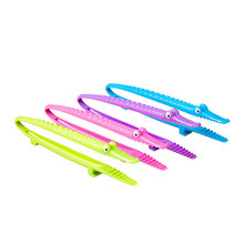 Multifunction Crocodile Cooking Baking Clips Barbecue BBQ Tongs Vegetable Fruit Tools For Food Bread Kitchen Accessories
