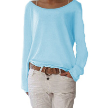 Casual O Neck Long Sleeve  Blouse